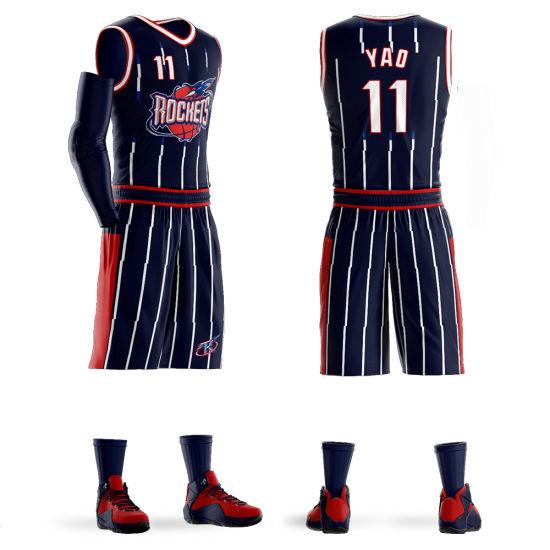 Houston Rockets #11 Yao Ming Mitchell & Ness Hardwood Classics Swingman Jersey
