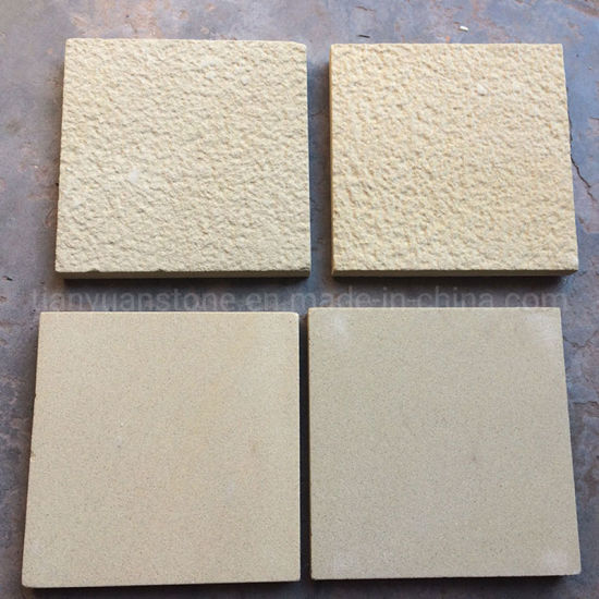 Chinese Yellow Sandstone Wall Cladding for Outdoor Decoration