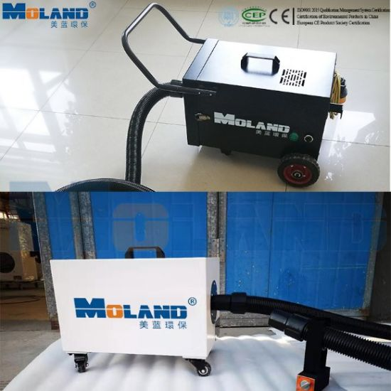Portable Welding Fume Extractor with CE ISO Certification Dust Collector