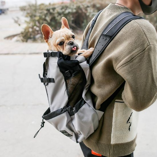 Breathable Pet Bags Outdoor Sport Travel Bag Cat Dog Pet Carrier Backpack