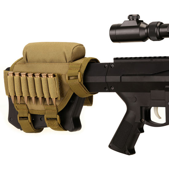 Adjustable Shell Cartridge Holder Shotgun Cartridges Bag Rifle Ammo Pouch