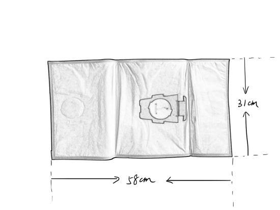 Kirby Magic HEPA FILTER Micro Allergen Plus F Style Vacuum Bags 6 Pack 204814