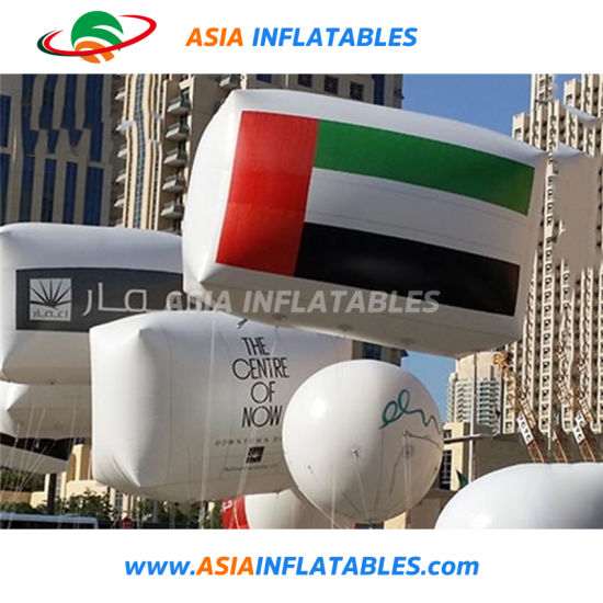 China Advertising Inflatable Uae Flag Balloon For Political