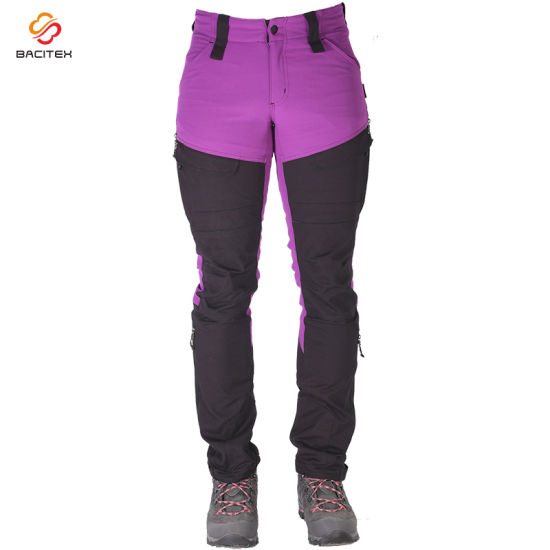 Wholesale Men Casual Camouflage Cargo Pants Hiking Climbing Soft Shell Trousers