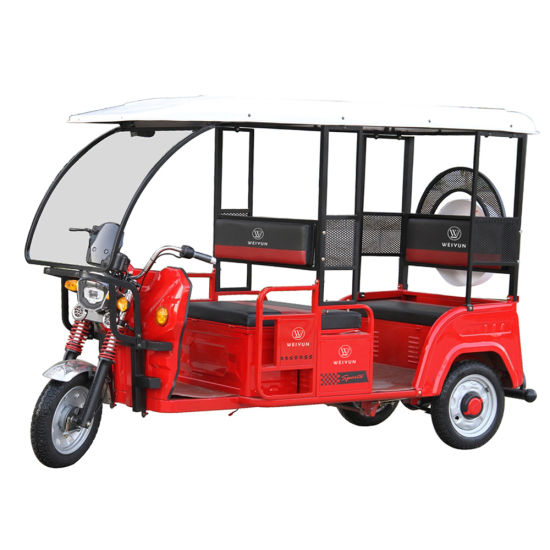 Cheap Electric 60V1000W Tricycle Rickshaw 3 Wheel pictures & photos