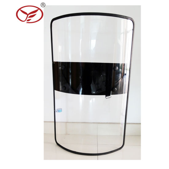PC Polycarbonate High Impact Resistance Transparent Security Riot Control Shield