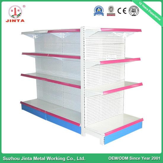 Fashionable Style Metal Supermarket Hypermarket Shelf