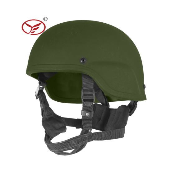 Bulletproof Helmet Mich 2000 with Side Rail and Nvg