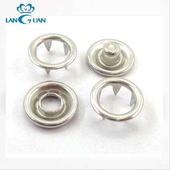 Customize New Design Prong Brass Metal Snap Button