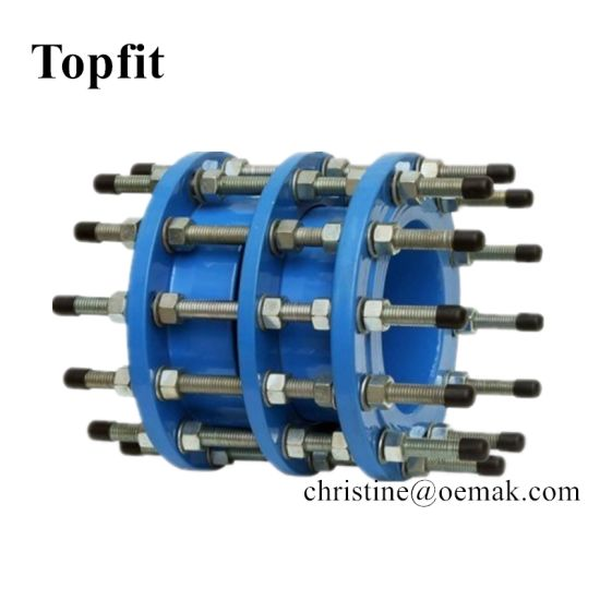Stainless Steel Ductile Cast Iron Pipe Fitting Dismantling Joint