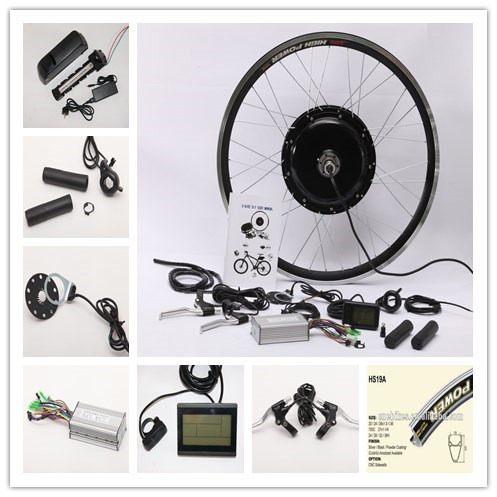 26 Inch Wheel 500W Electric Bike Conversion Kit Bicycle Kit pictures & photos