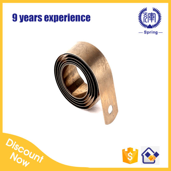 Custom Flat Coil Spiral Spring Power Spring Constant Force Spring