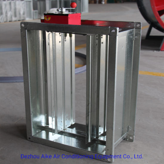 Low Cost Exhaust >> China Low Cost Smoke Exhaust Fire Damper For Ventilation