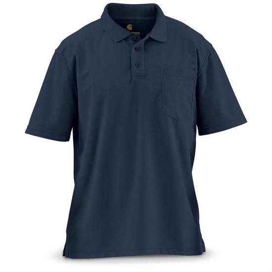 Promotional T-Shirt Work Wear Uniform Blank Golf Polo T Shirt