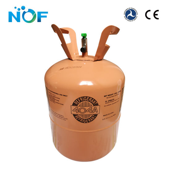 Refrigerant Gas 404A Price in 10 9kg Disposable Cylinder