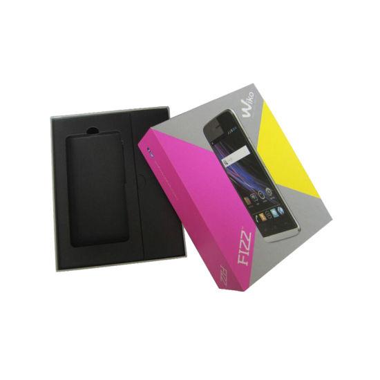 Custom Rigid Electronic Mobile Phone Gift Packaging Box