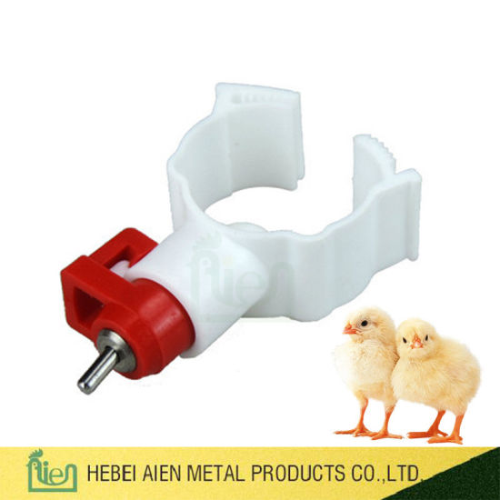Automatic Poultry Chicken Drinking System Nipple Drinker for Poultry Farm