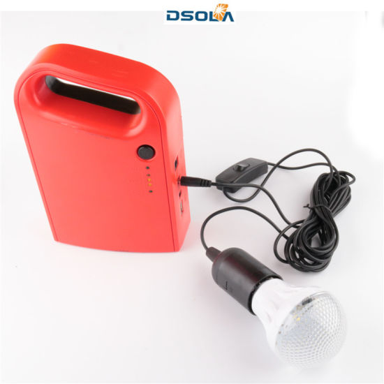 Dsola Excellent Quality Portable Solar Lantern pictures & photos