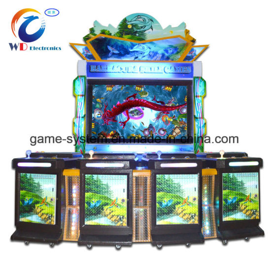 Fishing Arcade Machine with Ict Bill Acceptor