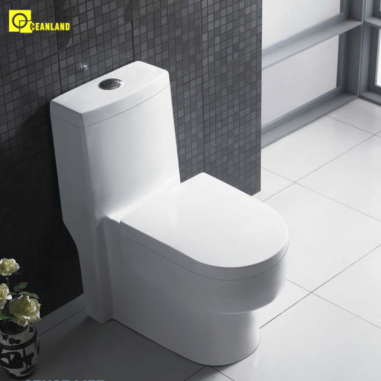 Modern Bathroom Vanity Two Piece White Bathtub Sanitary Ware EDA66153