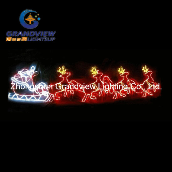 China 560cm led santa riding 4 reindeer sleigh christmas motif rope 560cm led santa riding 4 reindeer sleigh christmas motif rope lights aloadofball Choice Image