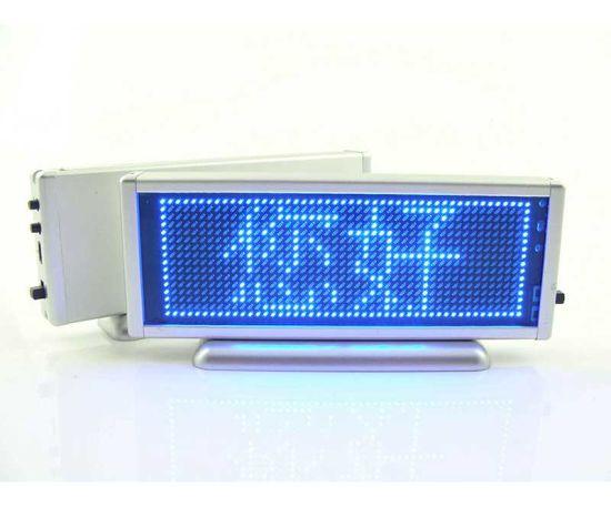 Blue Colour LED Desktop Display (BST-B1648AB)