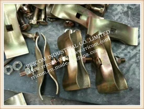 Galvanized and Pressed Fence Scaffolding Clamps