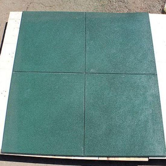 China Outdoor Used Rubber Flooring Tilesrubber Gym Floor Tiles