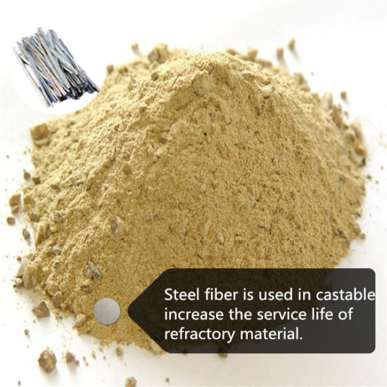 Stainless Steel Fiber for Refractory Castable pictures & photos