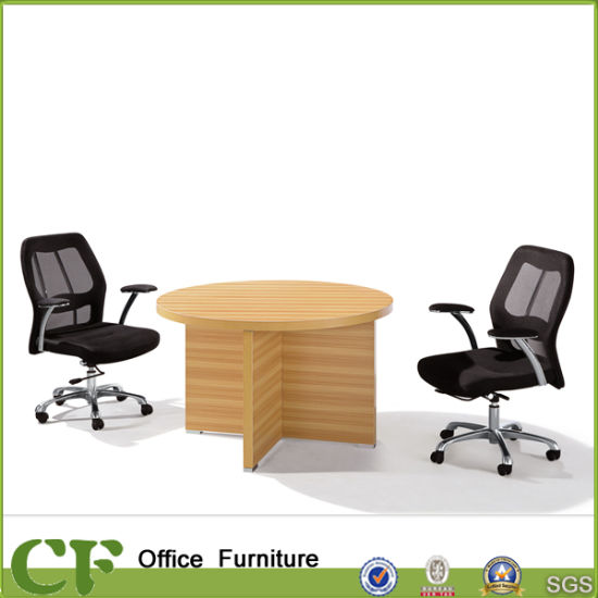 China Affordable Melamine Small Round Office Meeting Table China - Affordable conference table