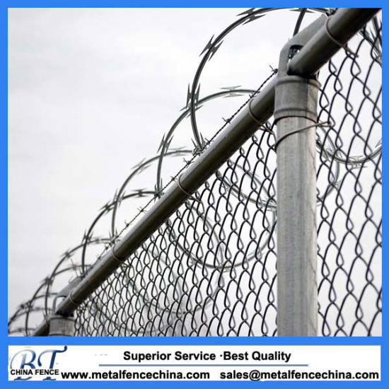 China PVC Coated Security Wire Mesh Chain Link Fence - China Chain ...