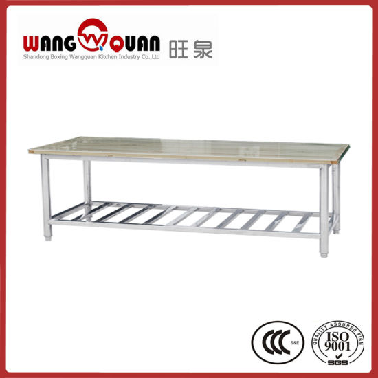 Cool Commercial Kitchen Wooden Overshelf Top Board Stainless Steel Table Gmtry Best Dining Table And Chair Ideas Images Gmtryco