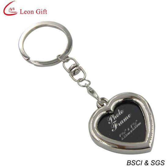 Hot Sale Metal Custom Frame Keychain Wholesale (LM1759) pictures & photos