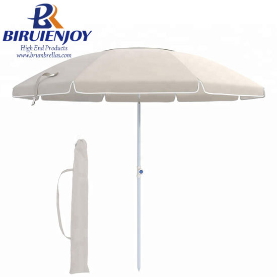 eb8328c312 Wholesale Cheap Promotional Big Outdoor Sun Beach Umbrella with Airvent  210cm