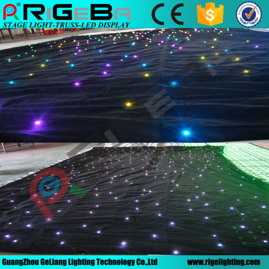 LED Star Curtain Wedding Party Effect Stage Light pictures & photos