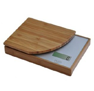 Electronic Food Scale Digital Bamboo Kitchen Scale pictures & photos