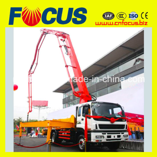 52m Boom Concrete Pump Truck with HOWO/Isuzu Chassis for Pumpcrete Use