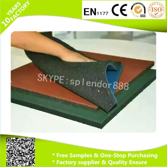 Rubber Gym Fitness Flooring Mat