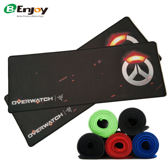 New Large Razer Overwatch Extended Rubber Gaming Mousepad