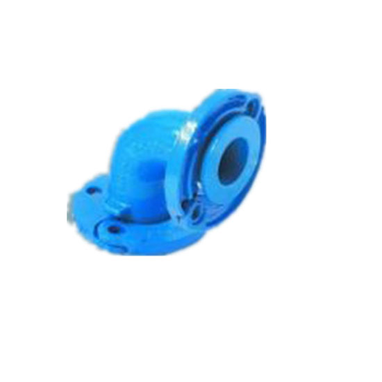 Ductile Iron Sand Cast Iron Pipe Fittings Threaded Blank Flange pictures & photos