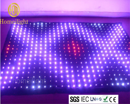 Whole Sale LED Video Curtain with CE pictures & photos