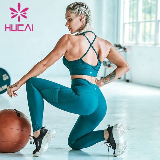 Women Gym Wear Yoga High Impact Sports High Waist Leggings