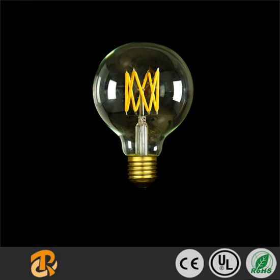 G80 Dimmable Edison Lamp LED Filament Bulb pictures & photos