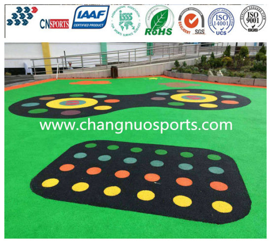 Non-Toxic and Harmless Laminated Moving Flooring for School/Playground/Kindergarten pictures & photos