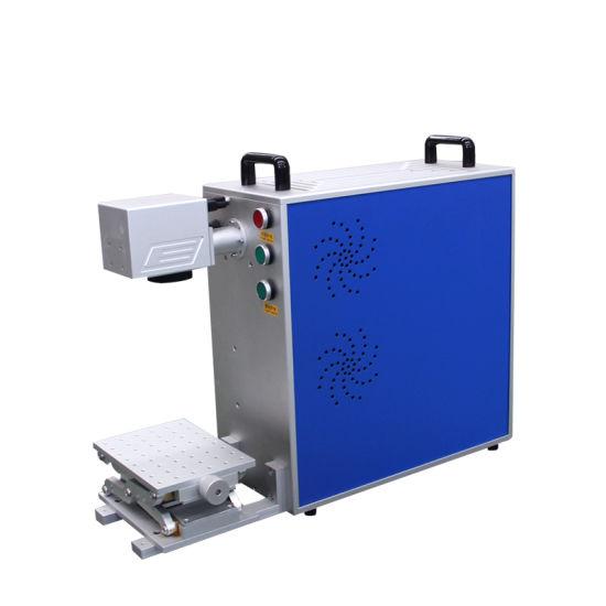 20W30W 50W Fiber Laser Marking Machine Raycus Max Fiber Marking Machine for Metal