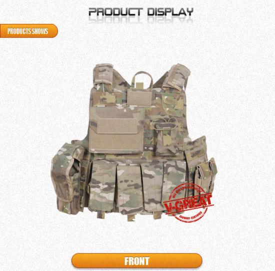 Tactical Millitary Police Bulletproof Vest (Vtac-031)