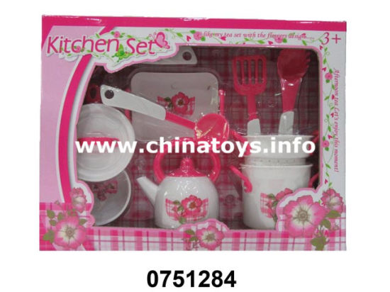 Newest Kitchen Set Toy, Cooking Toys, Tea Set (0751282) pictures & photos