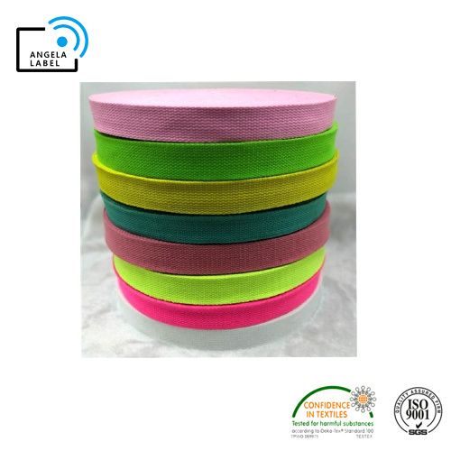 Poly Cotton Tape Woven Webbing for Yoga pictures & photos