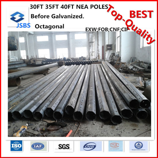 Hot-DIP Galvanized Metal Post Steel Pole pictures & photos