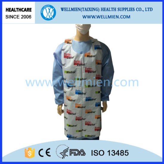 Disposable Printed PE/LDPE Apron pictures & photos
